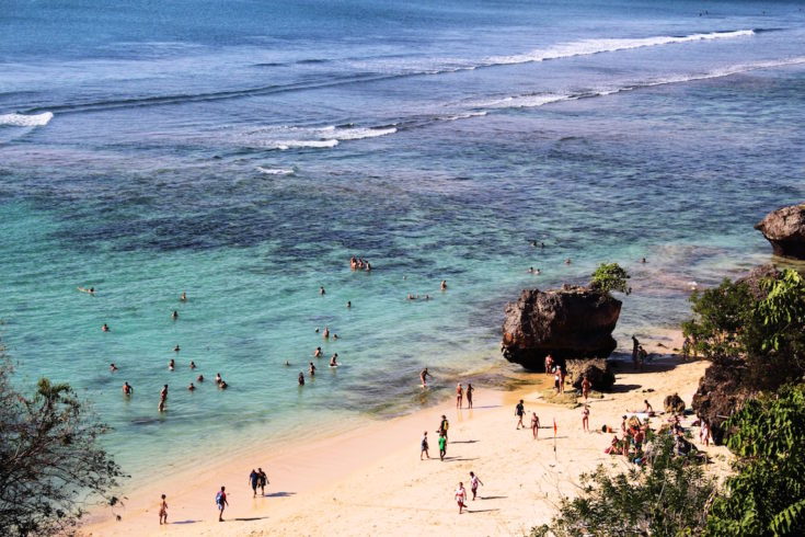 bali travel beach